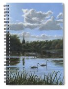 September Afternoon In Clumber Park Spiral Notebook