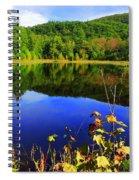 September Reflections Spiral Notebook