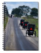 September Sunday Spiral Notebook
