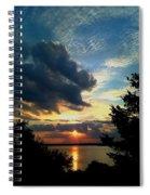 September Sunset Spiral Notebook
