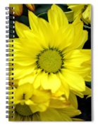 September Yellow Spiral Notebook