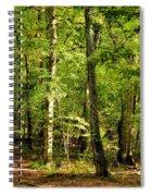 September's Woodlands Spiral Notebook