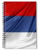 Serbian Flag Spiral Notebook