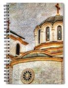Serbian Orthodox Church - San Marcos California Spiral Notebook