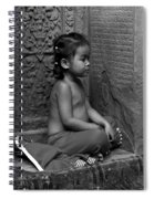 A Moment Of Serenity Spiral Notebook