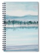 Serene Lake View Spiral Notebook