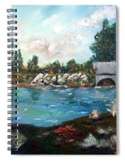 Serene River Spiral Notebook