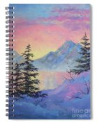 Serene Sunset Spiral Notebook
