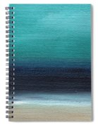 Serenity- Abstract Landscape Spiral Notebook