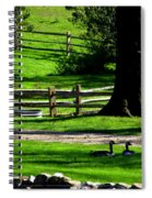 Serenity At Tashmoo Farm Spiral Notebook