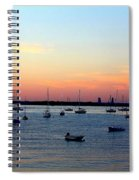 Serenity At The Bay Spiral Notebook