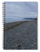 Serenity At The Beach Spiral Notebook