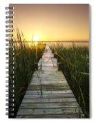 Serenity At The Lake Spiral Notebook