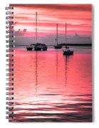 Serenity Bay Dreams Spiral Notebook