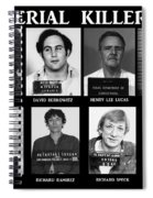 Serial Killers - Public Enemies Spiral Notebook