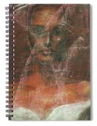 Serious Bride Mirage  Spiral Notebook