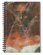 Serious Bride Mirage  Spiral Notebook