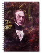 Serious Fellow 1 Spiral Notebook