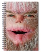 Serious Harry Spiral Notebook
