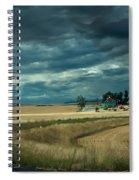 Serious Working Farm Spiral Notebook