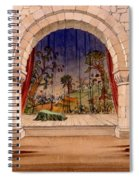 Set Design For Hamlet By William Spiral Notebook