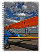 Set To Fly Spiral Notebook