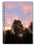 Setting Sky Spiral Notebook