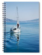 Setting The Sails Spiral Notebook