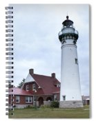 Seul Choix Point Lighthouse Spiral Notebook