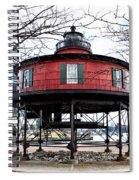 Seven Foot Knoll Lighthouse - Baltimore Spiral Notebook