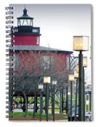 Seven Foot Knoll Lighthouse Spiral Notebook