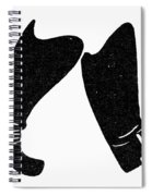Seven League Boots Spiral Notebook
