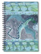 Seven Of Cups Spiral Notebook