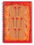 Seven Of Wands Spiral Notebook