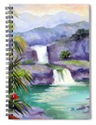 Seven Sacred Pools Spiral Notebook