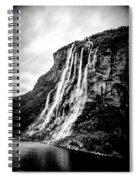 Seven Sisters Waterfall Spiral Notebook