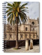 Seville Cathedral In Spain Spiral Notebook