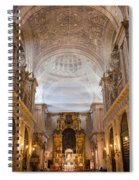 Seville Cathedral Interior Spiral Notebook