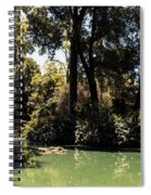 Autumn In Seville Spiral Notebook