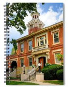 Sewickley Pennsylvania Municipal Hall Spiral Notebook