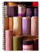 Sewing - Fabric  Spiral Notebook