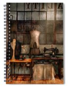 Sewing - Industrial - Quality Linens  Spiral Notebook