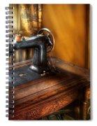 Sewing Machine  - The Sewing Machine  Spiral Notebook