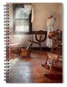 Sewing - Room - Grandma's Sewing Room Spiral Notebook