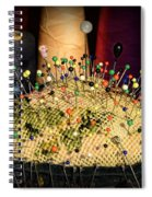 Sewing - The Pin Cushion Spiral Notebook