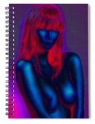 Sexy Babe Spiral Notebook