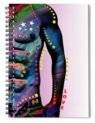 Sexy Card  Spiral Notebook