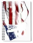 Sexy Stars And Stripes Spiral Notebook