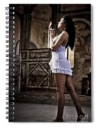 Sexy Woman In Church Spiral Notebook