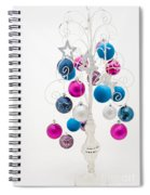 Shabby Chic Christmas Spiral Notebook